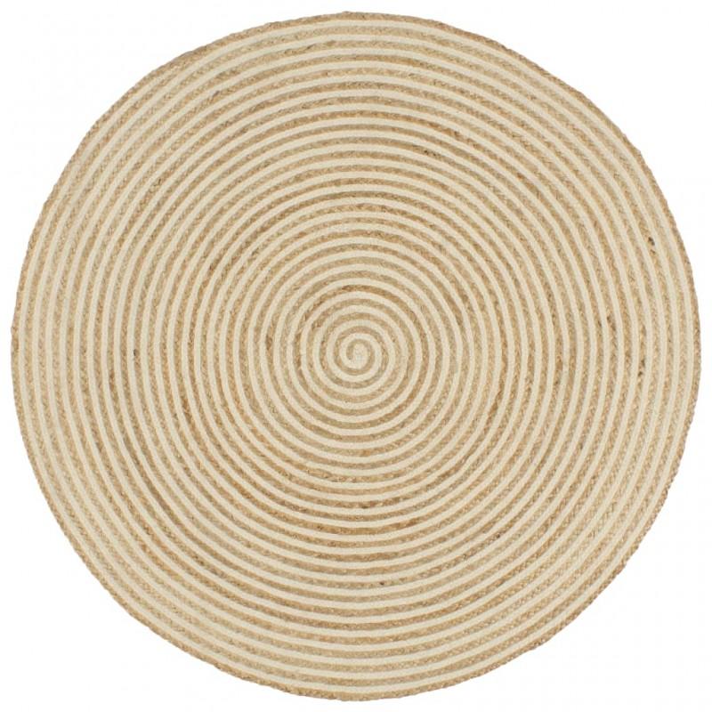 vidaXL Jersey de hombre cuello redondo azul marino L