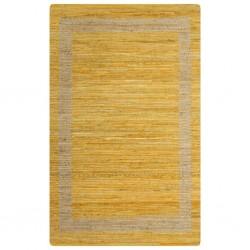 vidaXL Jersey de hombre cuello de pico gris L