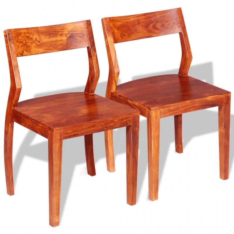 vidaXL Perchero con 7 ganchos de madera maciza reciclada