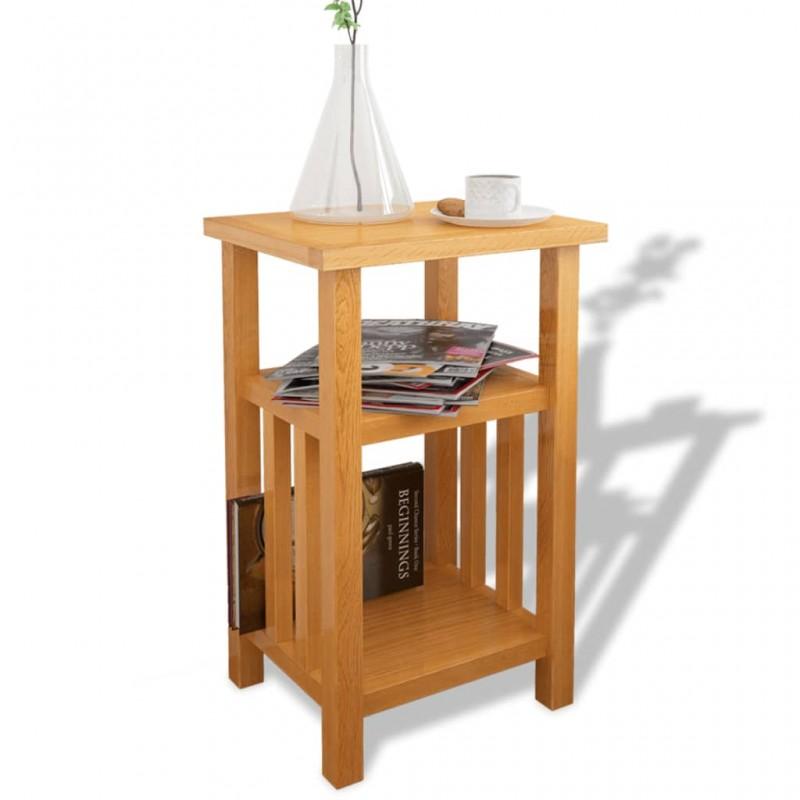 vidaXL Tablero de mesa de cristal templado redondo 500 mm