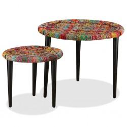 vidaXL Tablero de mesa cristal templado redondo 600 mm